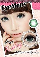 softlens-eyemeny-pudding-green