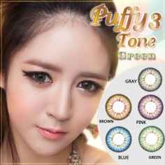 Puffy-3-Tone-Green-Softlens2