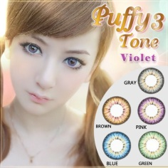 Puffy-3-Tone-Violet-Softlens1